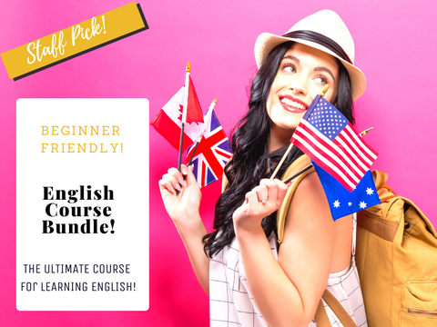 English Course Bundle with 52 Lessons!
