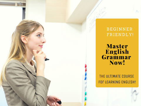 Master English Grammar Now Course!
