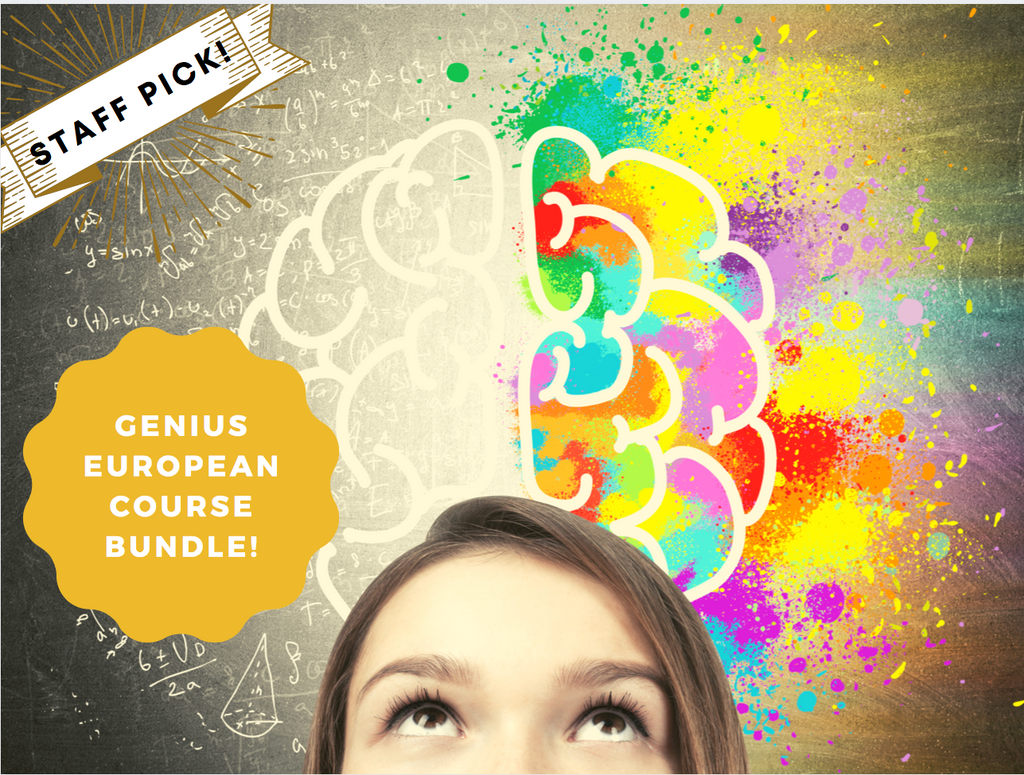 Genius European Course Bundle - Secret World of Languages