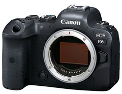 Canon Eos R6 Body and EF adapter