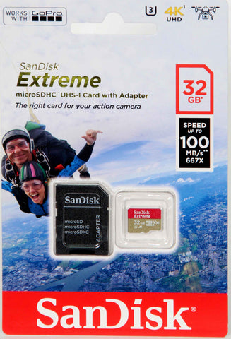 Sandisk 32GB Sd Micro Extreme