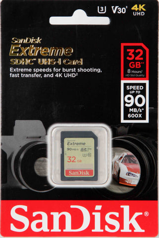 Sandisk 32Gb Sd Extreme
