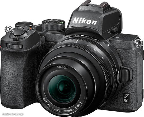 Nikon Z50 Mirrorless Digital Camera with 16-50mm + 50-250mm