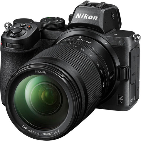 Nikon Z 5 Mirrorless with 24-200mm Lens