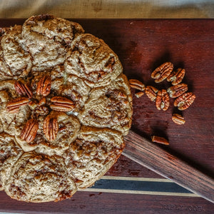 Whole Wheat Cardamom-Pecan Buns