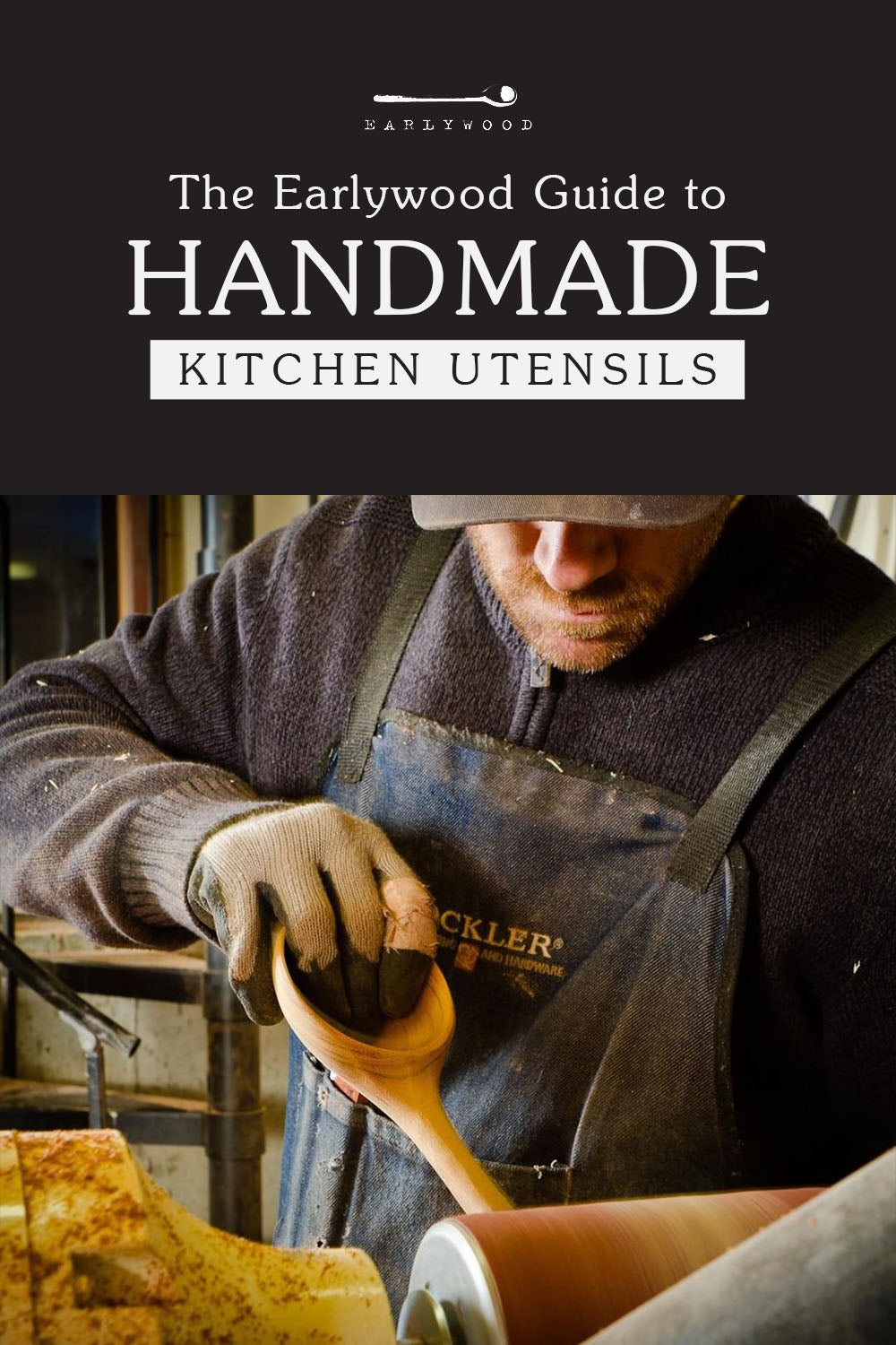 Earlywood's process on the best handmade kitchen utensils