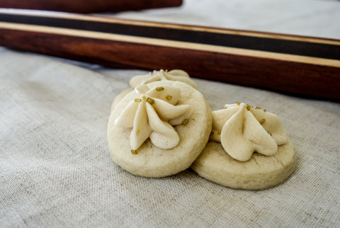 montana wildflower wedding inspiration rolling pin cookies delicate pretty rustic shabby chic