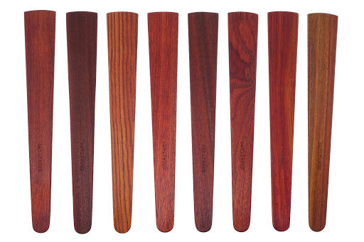 Saute Spatulas made from Bloodwood
