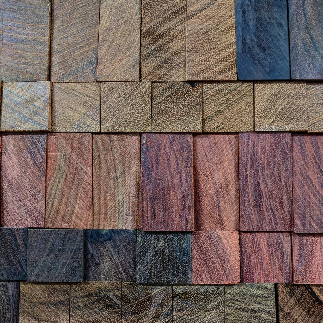 Hardwoods we use for cooking tools