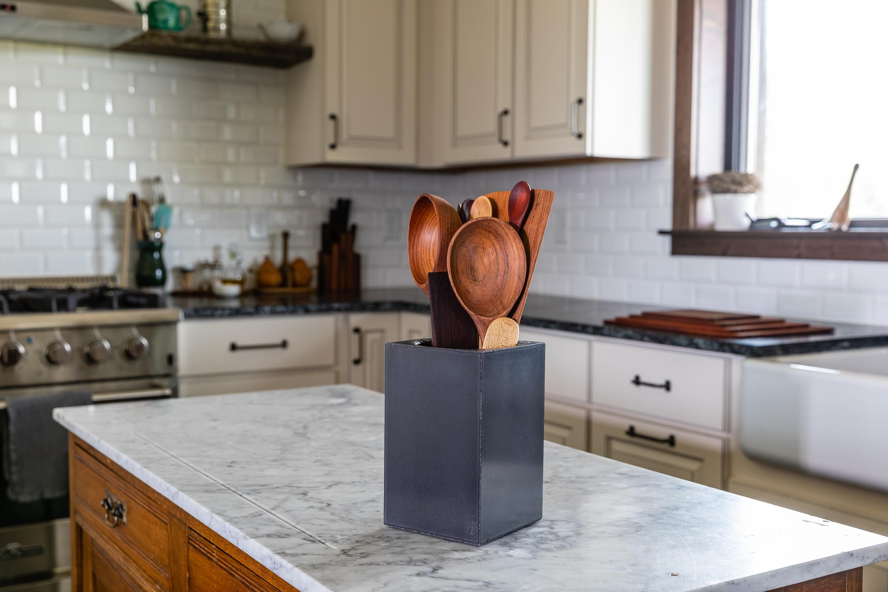 Beautiful kitchen utensils made from wood