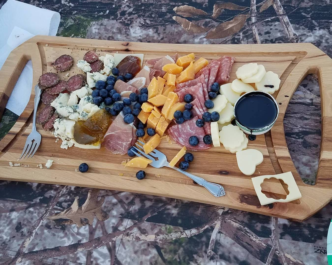 Charcuterie tray handcrafted in the US