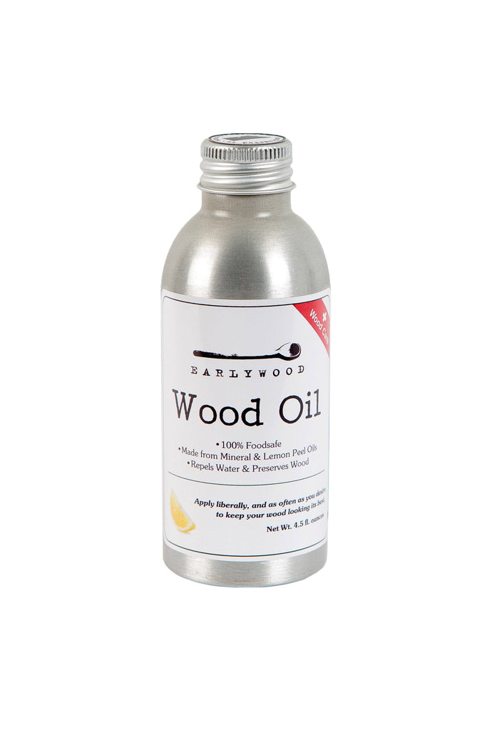 Wood utensil oil