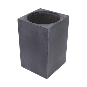 concrete kitchen utensil holder - gray Earlywood