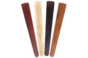 wooden spatula set of 4 thin wood spatulas - Earlywood