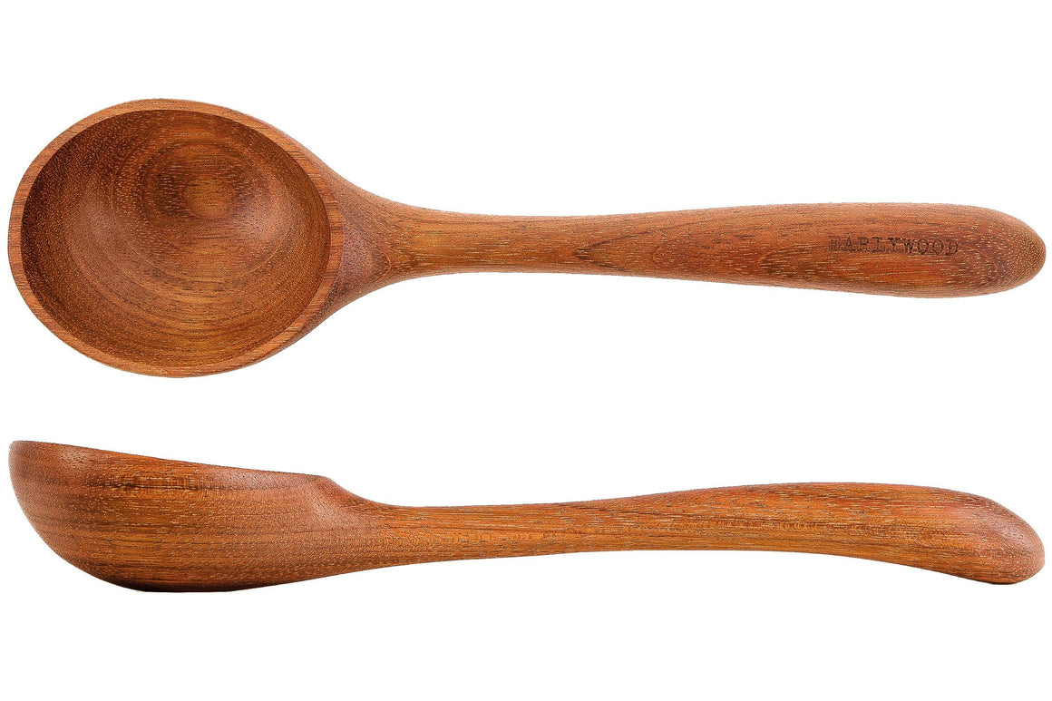 large ladle wooden serving spoon - jatoba - Earlywood