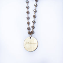 Load image into Gallery viewer, Serenity Stone Beige Necklace
