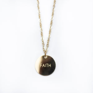 Faith Pendant