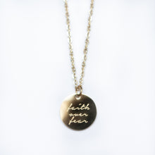 Load image into Gallery viewer, Faith Pendant
