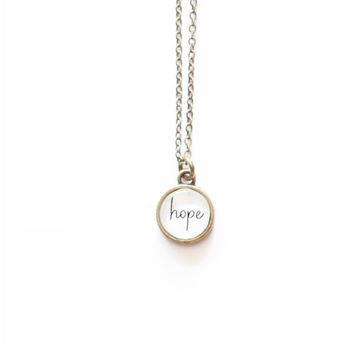 Hope Necklace by The Vintage Sparrow