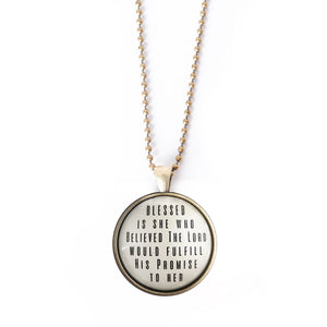 His Promises Bold II Necklace