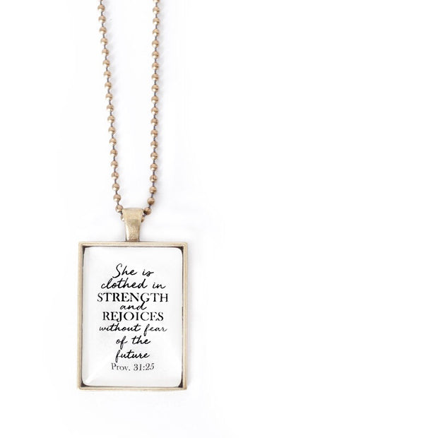 Clothed In Strength Necklace 1