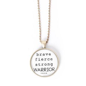 Warrior Necklace by The Vintage Sparrow