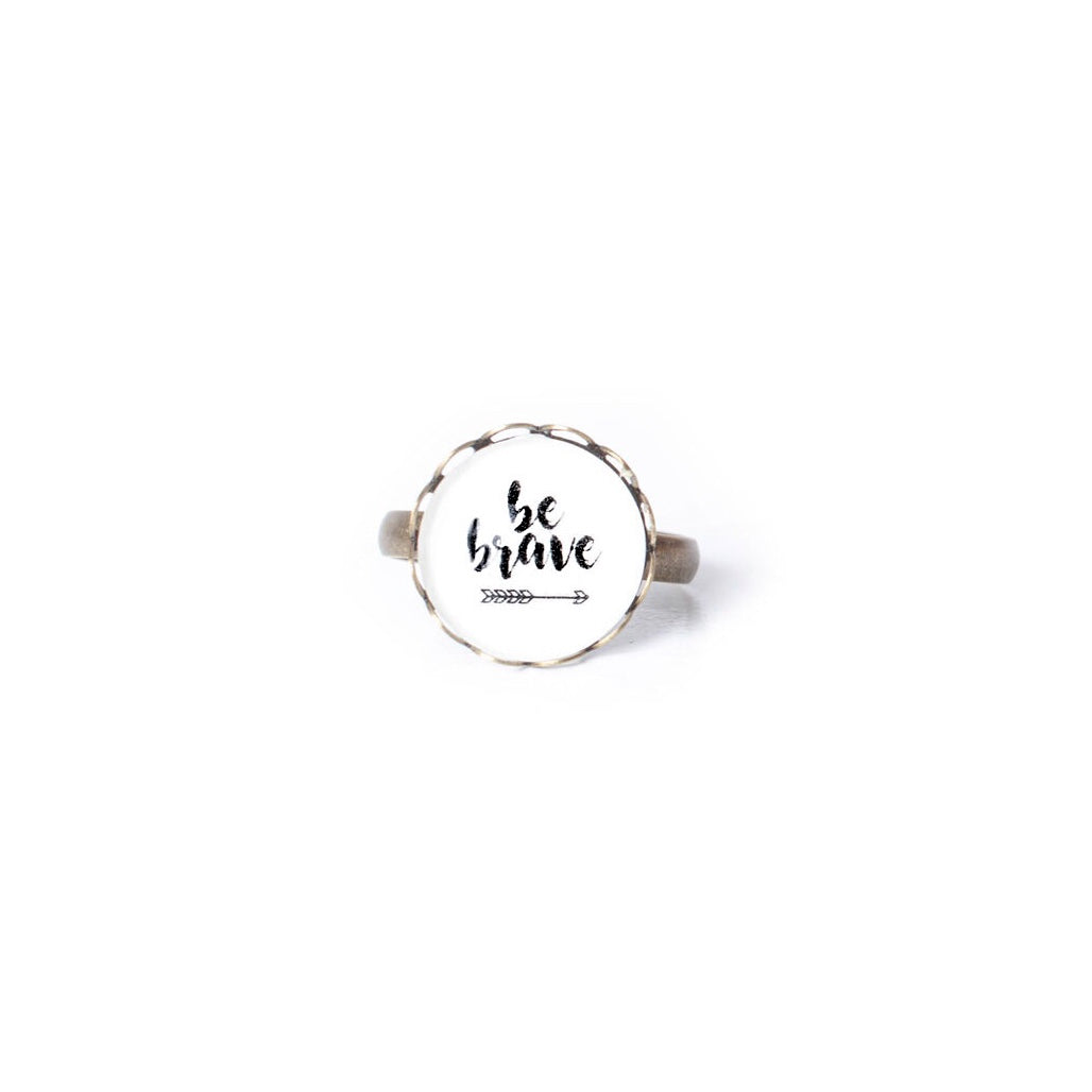 Be Brave Ring
