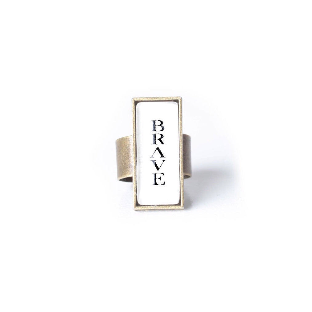 Brave Ring by The Vintage Sparrow