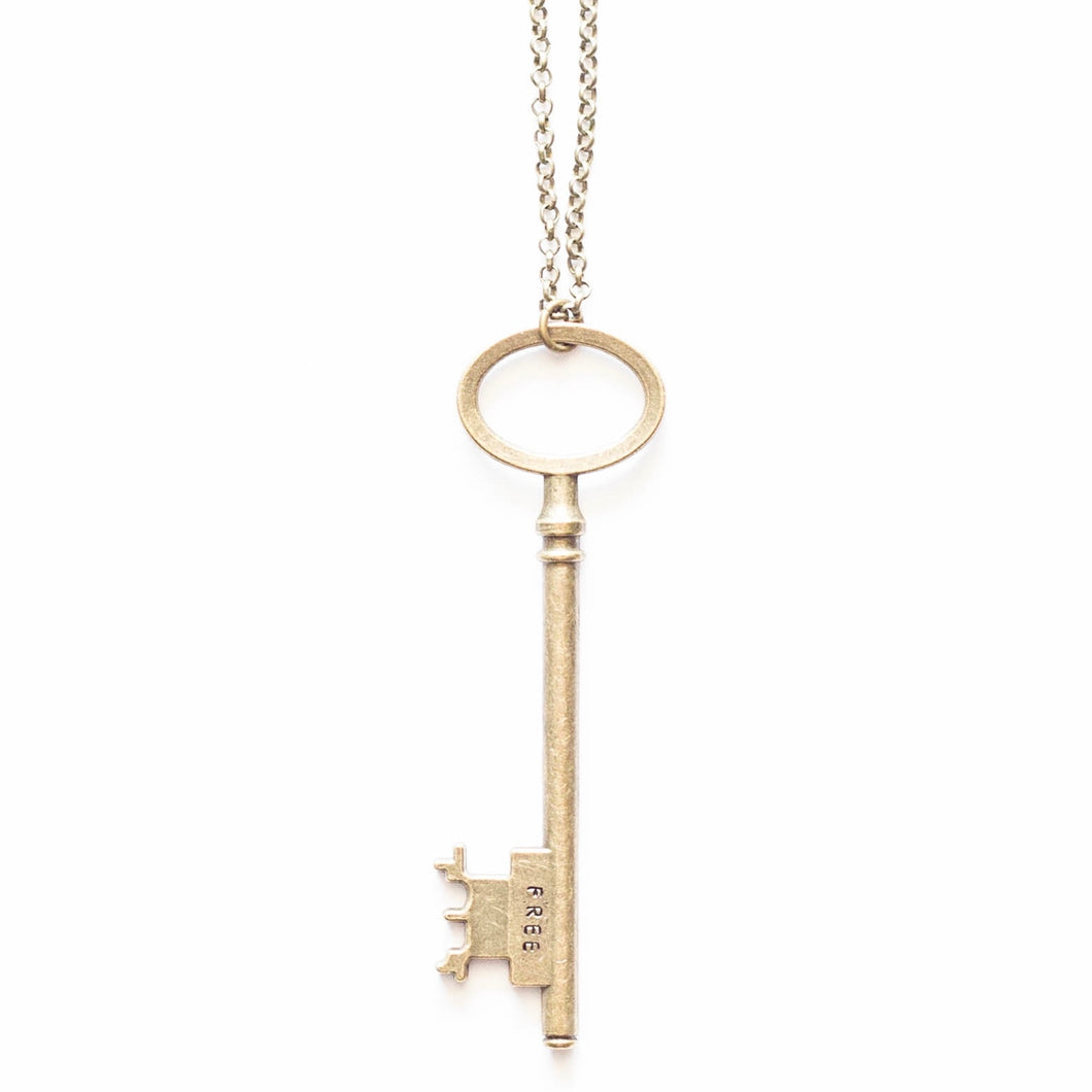 Free Key Necklace
