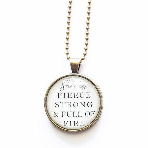 Full of Fire Necklace