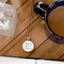 Load image into Gallery viewer, Grace Upon Grace Necklace by The Vintage Sparrow
