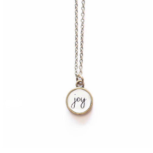 Joy Necklace by The Vintage Sparrow