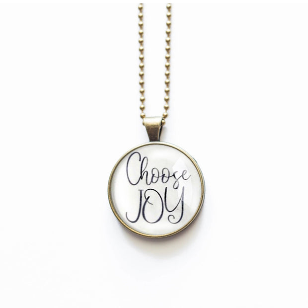 Choose Joy Necklace 1
