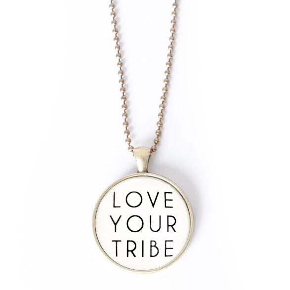 Love Your Tribe Necklace by The Vintage Sparrow