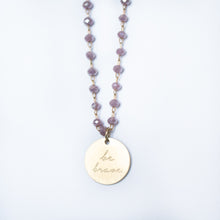 Load image into Gallery viewer, Serenity Stone Lilac Necklace