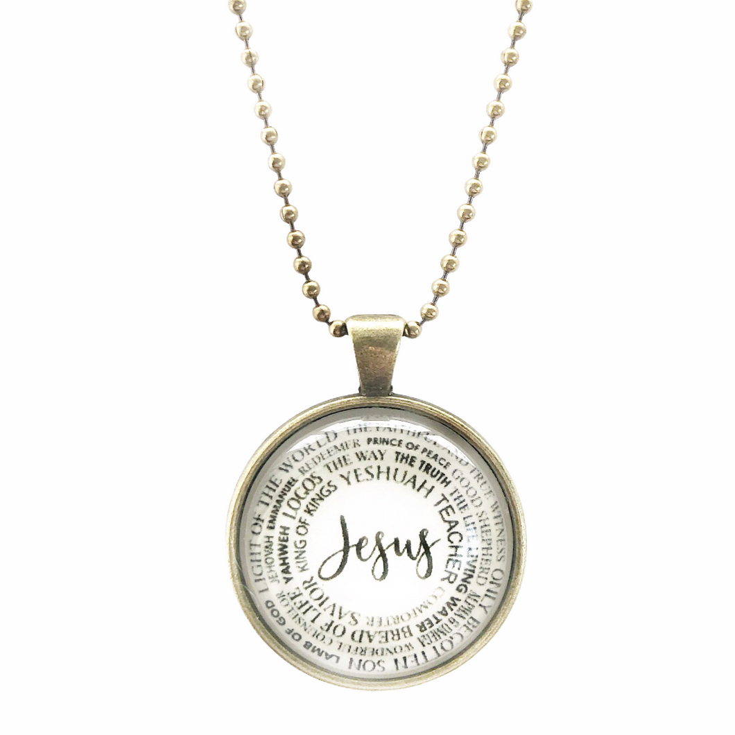 Names of Jesus Necklace