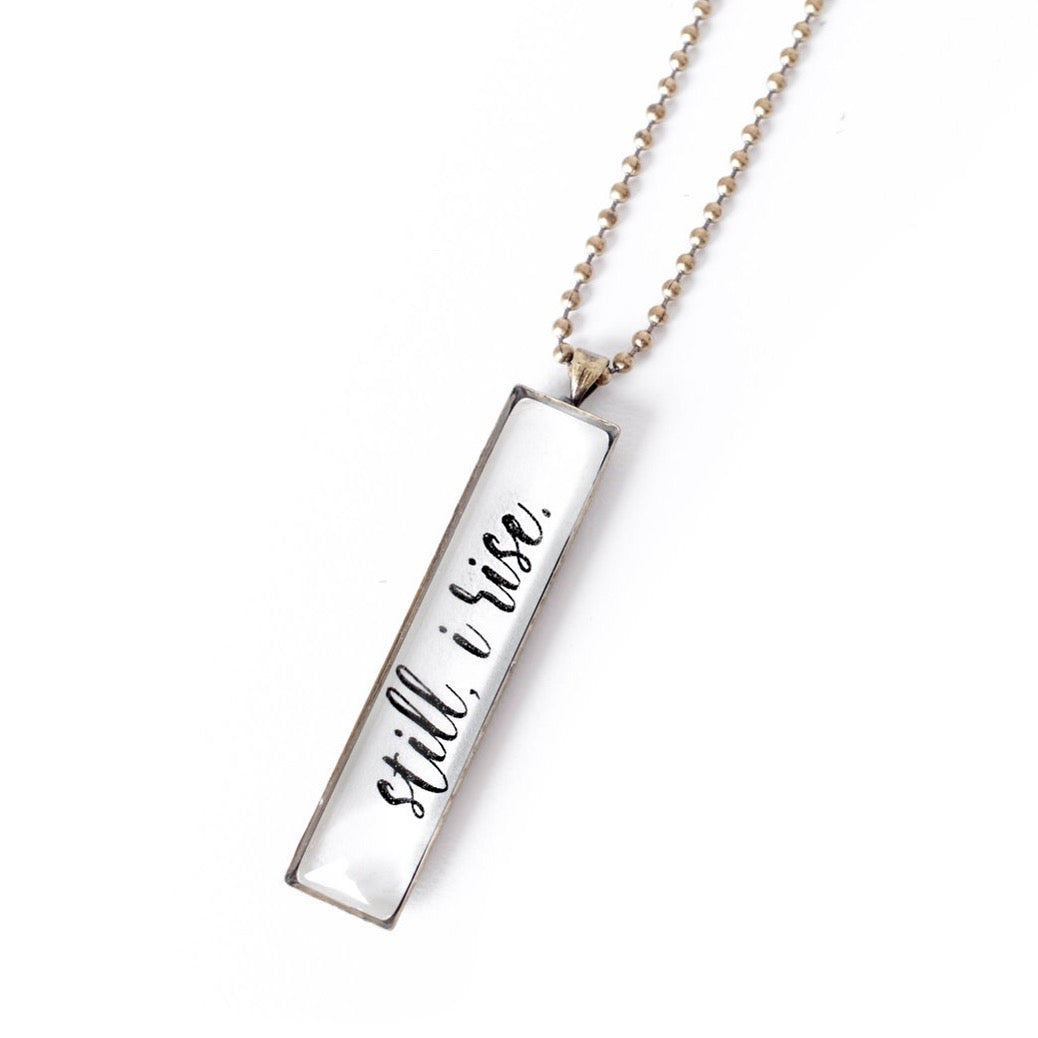 Still I Rise Necklace
