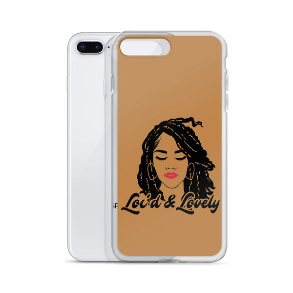 Loc'd and Lovely iPhone Case