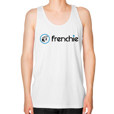 Frenchie Classic Jersey Tank White Frenchie