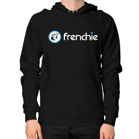 Frenchie Classic Slim Fit Hoodie Black Frenchie