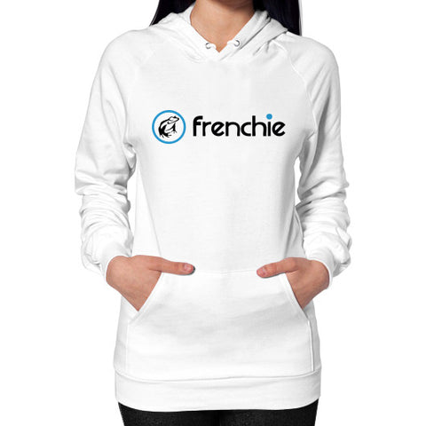 Frenchie Classic Slim Fit Hoodie White Frenchie