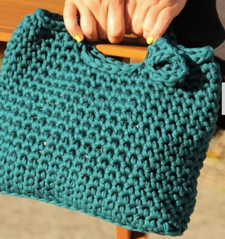 Make an Afternoon Tea Tote Class with Hook & Hop Cool Tee-Yarn