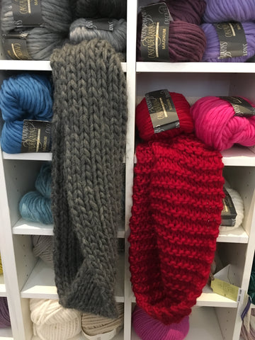 Learn to Knit your Winter Cowl Class