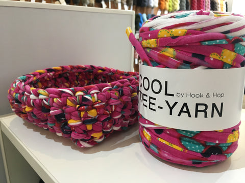 Hook & Hop Cool Tee-Yarn Crochet Classes