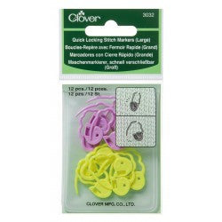 Clover Stich Markers - Locking