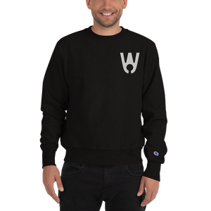 Keyhole Logo Embroidered Champion Sweatshirt - Westa