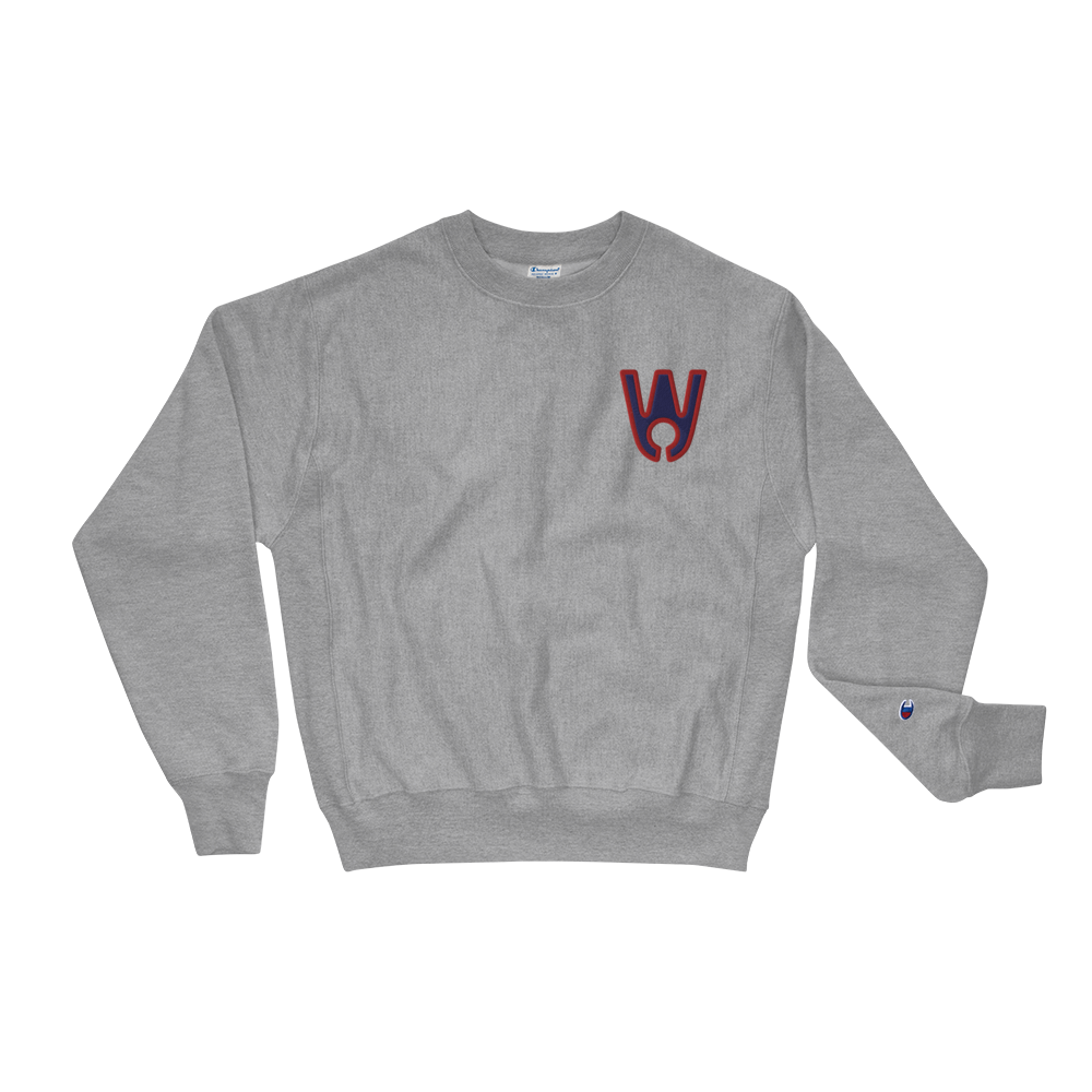 Keyhole Logo BR Embroidered Champion Sweatshirt - Westa