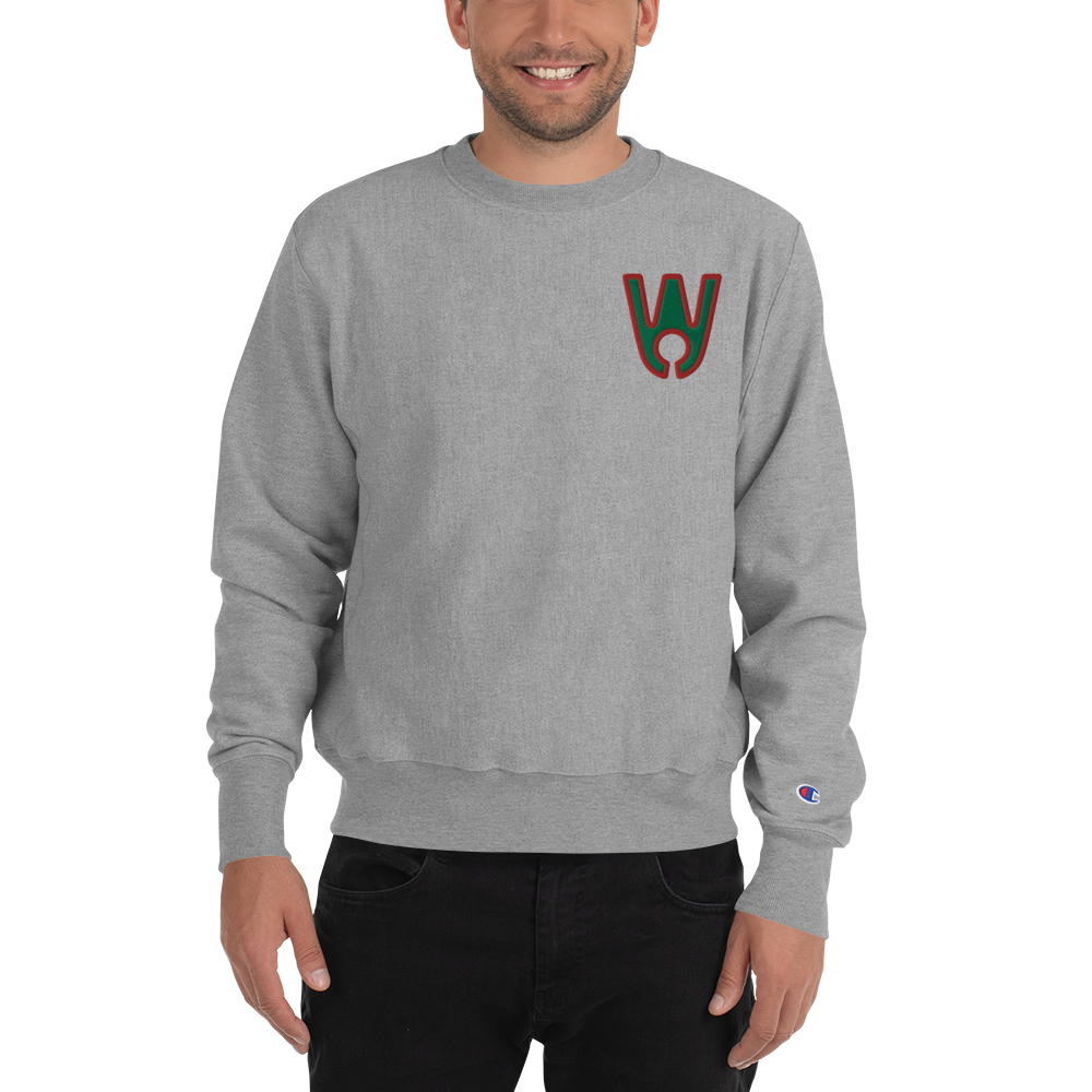 Keyhole Logo GB Embroidered Champion Sweatshirt - Westa