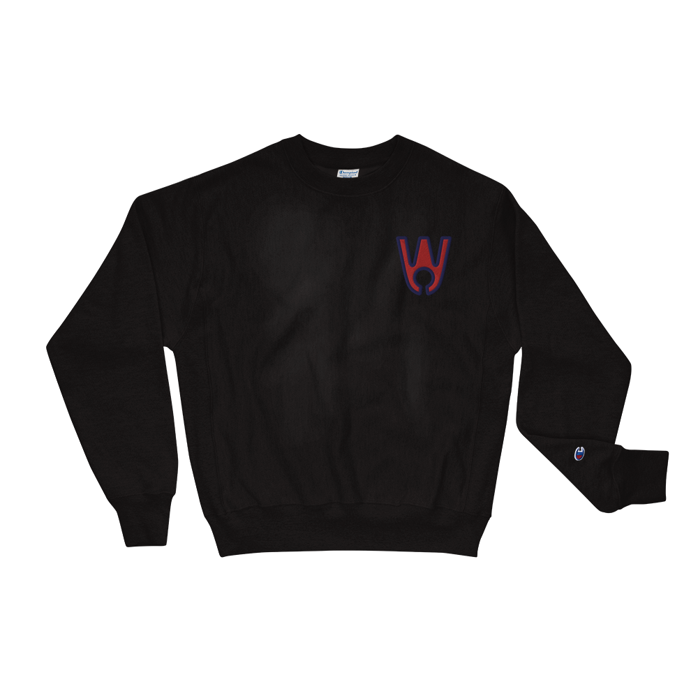 Keyhole Logo RB Embroidered Champion Sweatshirt - Westa