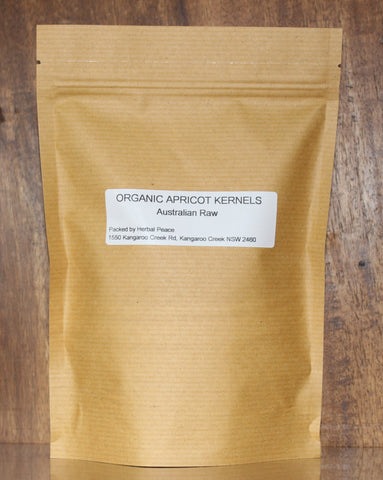 Organic and Raw Apricot Kernal Seeds ~ 250g (Sold for cosmetic use only)